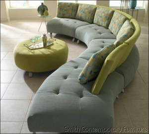 Ordinaire The Artek Sectional By Lazar Features Beautiful Curves That Are Stunning  From Any View. Choose From A Variety Of Fabrics And Leathers For The Seats,  ...
