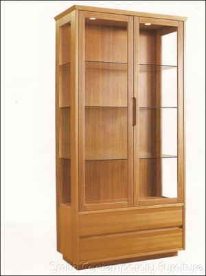 Teak Curio by Sun Home Collection