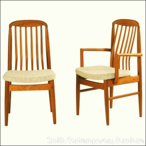 Teak Dining Chair by Sun Home Collection