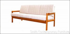 Teak Sofa by Sun Home Collection