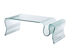 Zuo Discovery Coffee Table Clear Glass