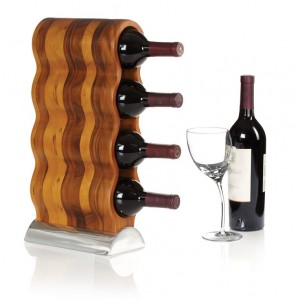 MT0667 Curvo Wine Rack (8%22 x 5%22 x 17.25%22H)